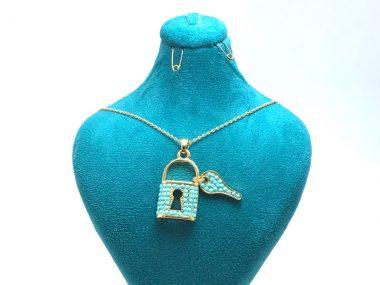 مدال اسپورت دخترانه قفل و کلید