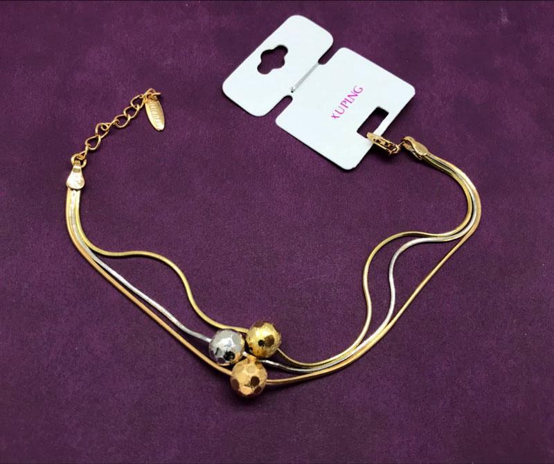 دستبند توپی و زنجیری ژوپینگ