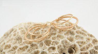 گوشواره حلقه ای ژوپینگ